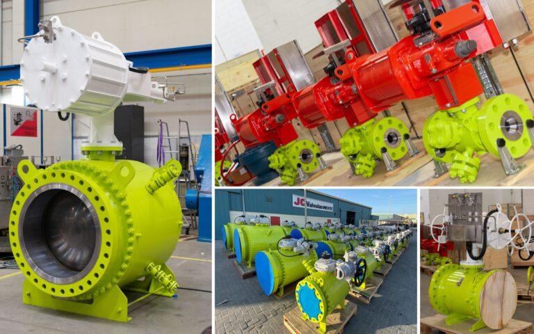 Válvulas de bola para servicio de gas hidrocarburo en Oriente Medio